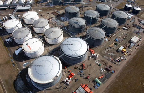 conserveringsopdracht oiltanking van der ende