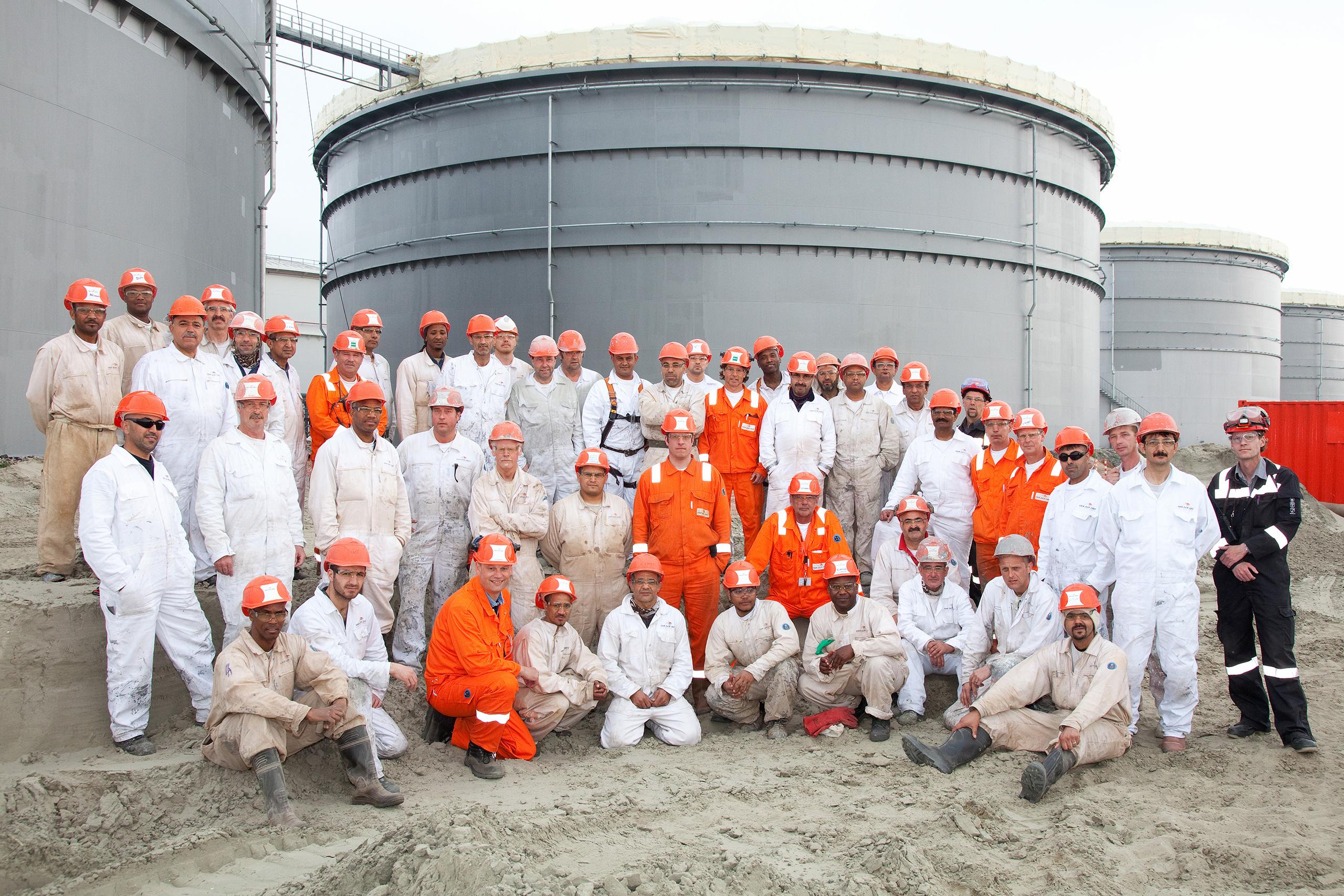 steelprotectors oiltanking terneuzen